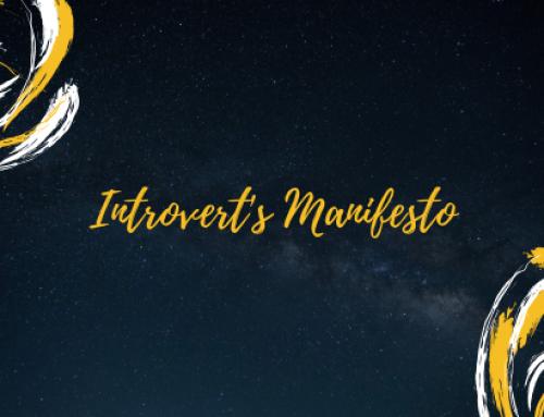 Introvert's Manifesto